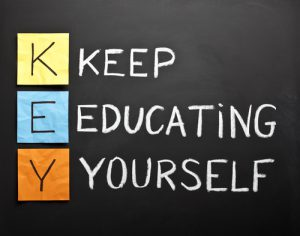 keep educating