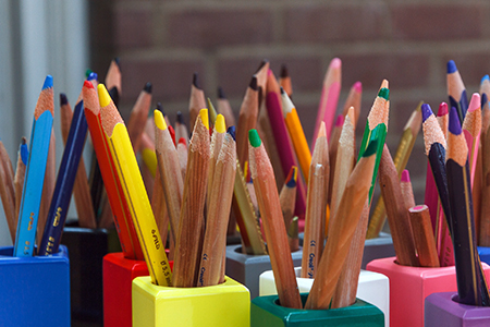 bouquet-of-pencils