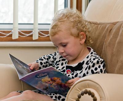 child-reading