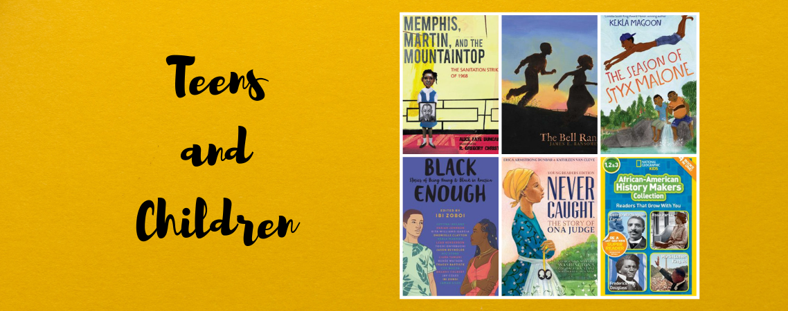 Black History Teen/Children Books