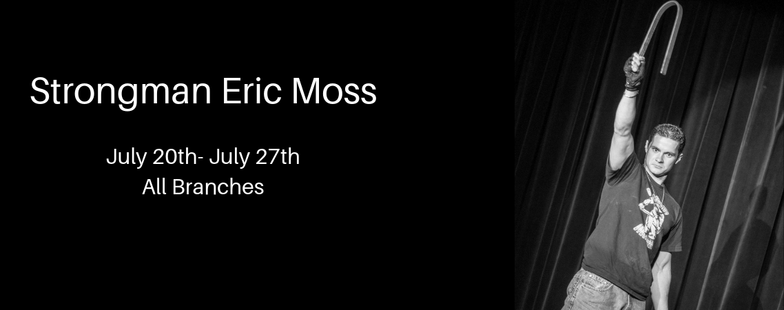Strongman Eric Moss